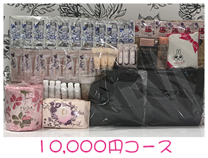 資生堂・dプログラム・ベネフィーク福袋10,000円コース景品プレゼント