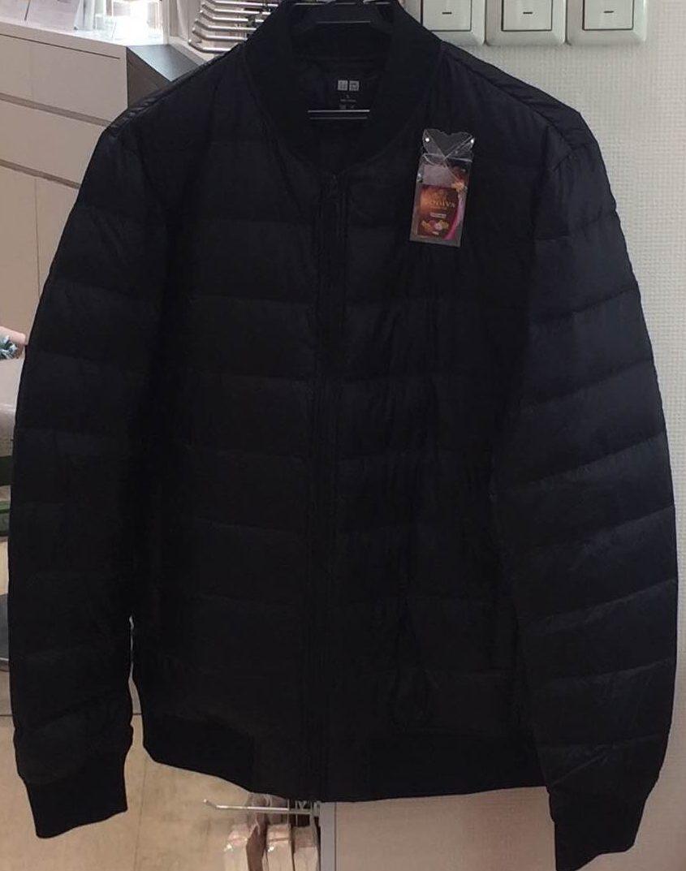 イオンモール札幌発寒 化粧品専門店BellTolls バレンタインデーでもらったユニクロの超薄ダウンジャンパー