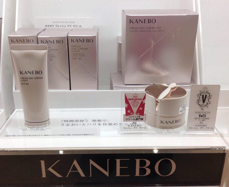 イオンモール札幌発寒 化粧品専門店BellTolls カネボウ フレッシュデイクリーム&フレッシュデイクリーム ライト