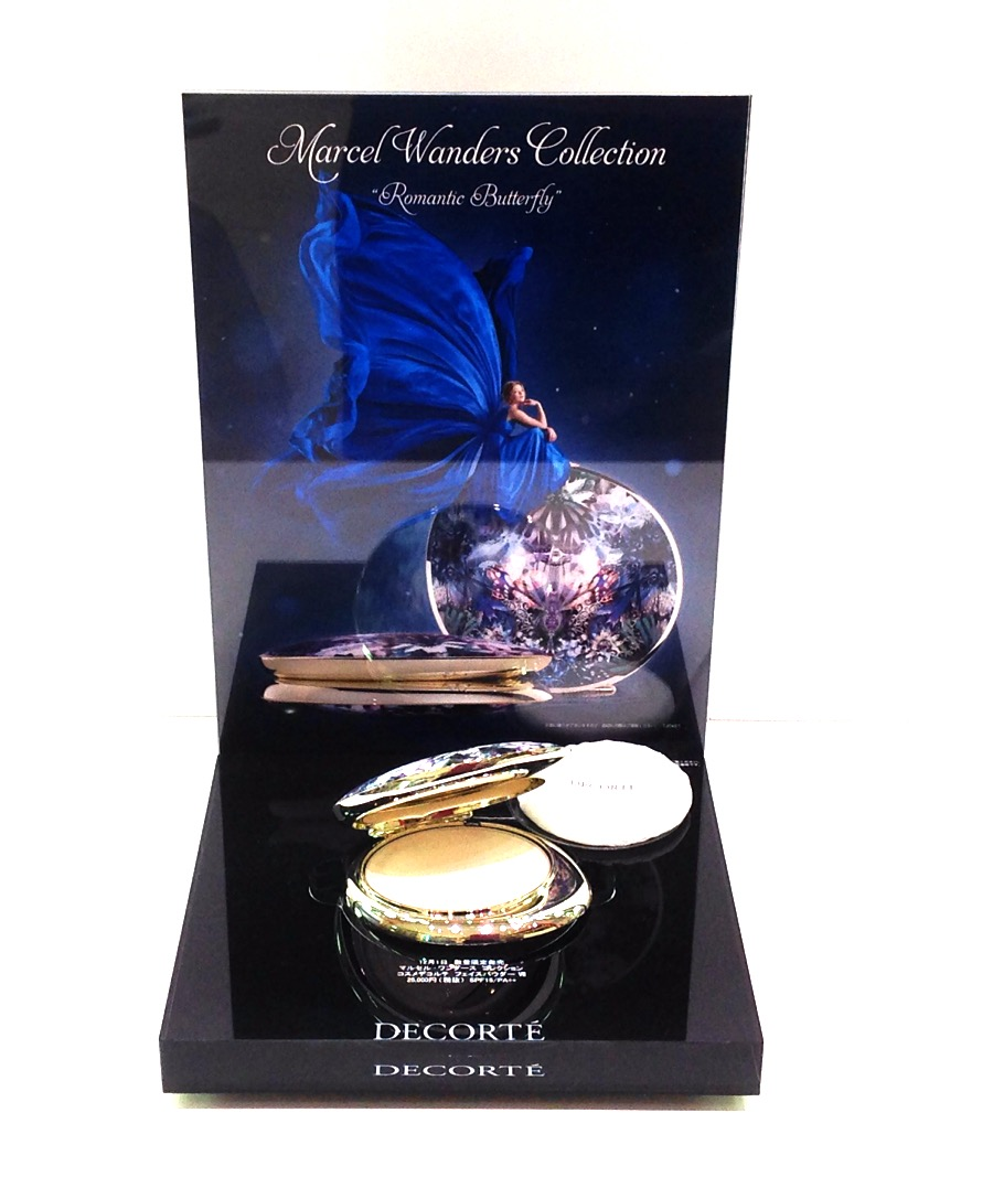 イオンモール札幌発寒 化粧品専門店BellTolls コスメデコルテ フェイスパウダーⅦ マルセル・ワンダース コレクション