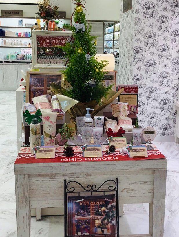 イオンモール札幌発寒 化粧品専門店BellTolls イグニスガーデン クリスマス