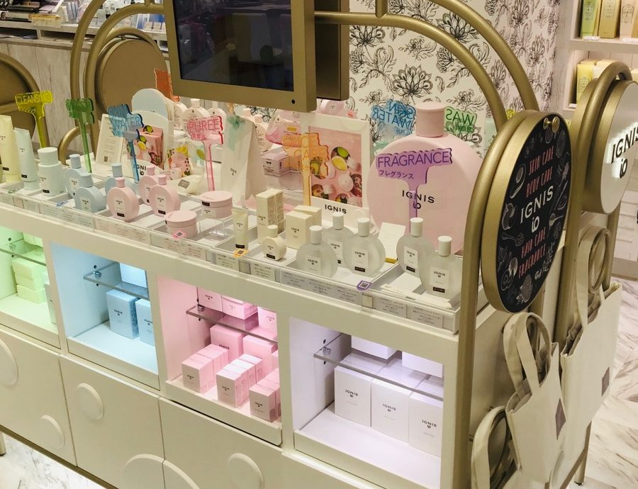 イオンモール札幌発寒 化粧品専門店BellTolls アラカルトコスメ イグニスイオ ピューレ