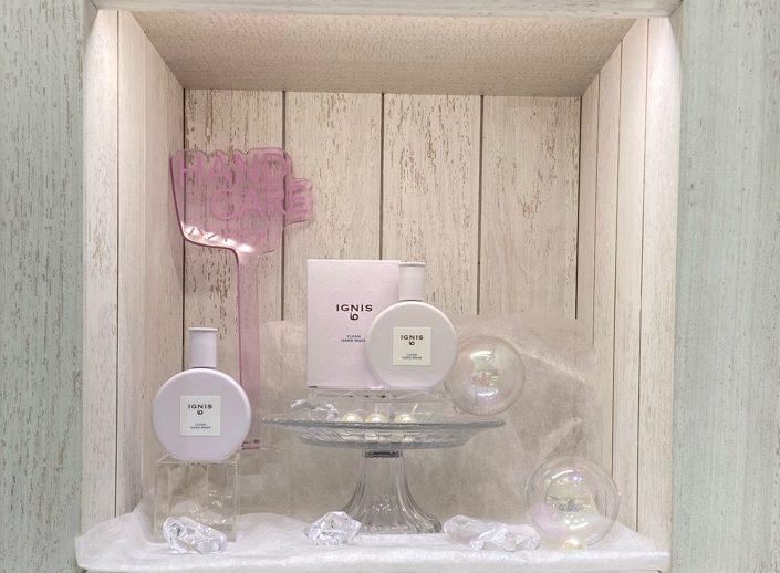 イオンモール札幌発寒 化粧品専門店BellTolls イグニスイオ クリーンハンドウォッシュ